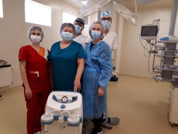 Delta Medical передала сучасний медичний аспіратор Центру матері і дитини в Дніпрі